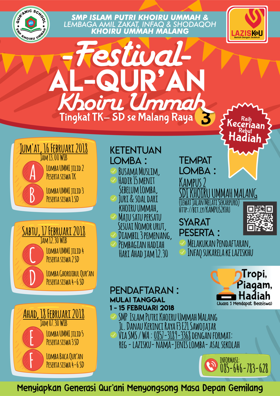festival Al-Qur'an Khoiru Ummah ke-3