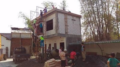 pembangunan gedung sekolah khoiru ummah malang