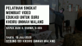 Pelatihan Singkat Membuat Video Edukasi Untuk Guru Khoiru Ummah Malang | Budi S. Darma,S.Sos