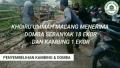 Penyembelihan Hewan Qurban Oleh Panitia Qurban Yayasan Khoiru Ummah Malang dari Laziskhu dan Penyumbang Lain